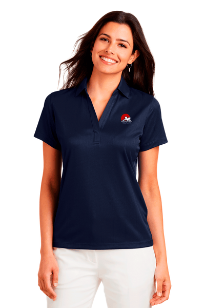WBCA Jacquard Performance Polo