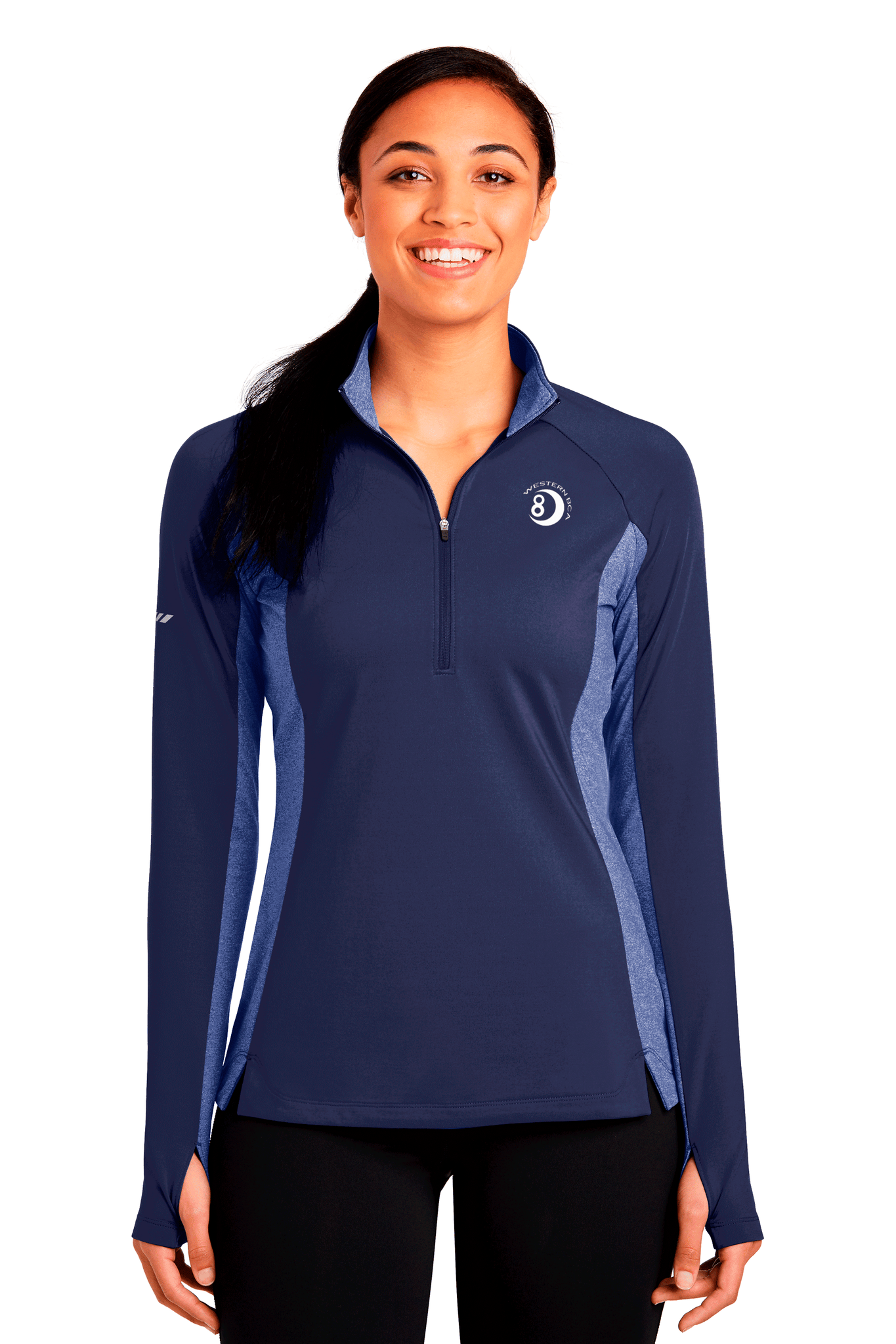 WBCA Stretch 1/2 Zip Pullover
