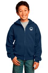 WBCA Youth Full-Zip Hooded Sweatshirt