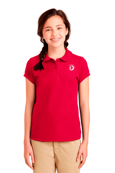 WBCA Youth Collar Polo