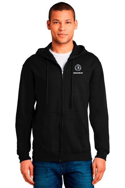 Bodiewear Zip Up Hooded Sweatshirt - BODIEWEAR