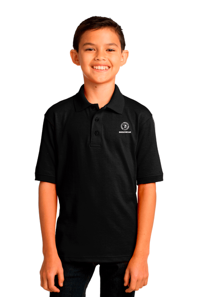 Bodiewear Youth Jersey Knit Polo