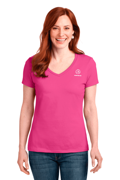 Bodiewear Ladies V-Neck Tee - BODIEWEAR