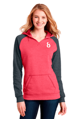 8-Ball Lightweight Fleece Raglan Hoodie - BODIEWEAR