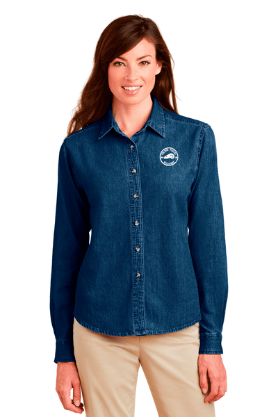 Golden Fleece Ladies Denim Shirt - BODIEWEAR