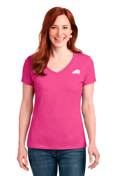 Golden Fleece Ladies V-Neck Tee - BODIEWEAR