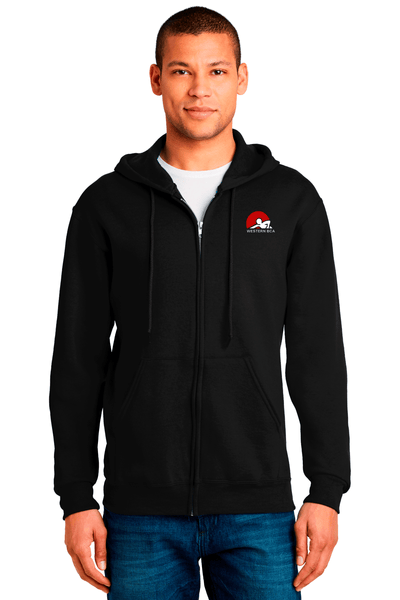WBCA Men's Zip Up Hooded Sweatshirt