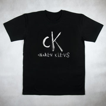 Chicken Kievs Black Tee
