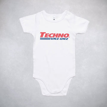 Techno Baby Onsie