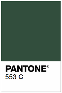 Forest Green (Pantone 553C)
