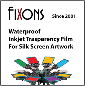 Waterproof Screen Positive Film  (100 Sheets)