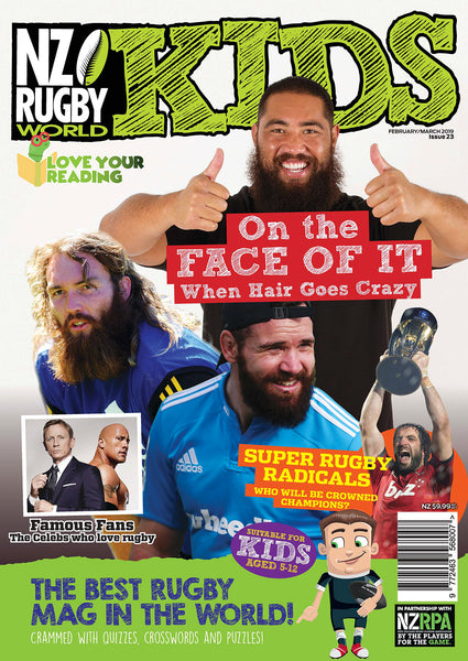 NZ Rugby World KIDS Back Issue - Feb / Mar 2019