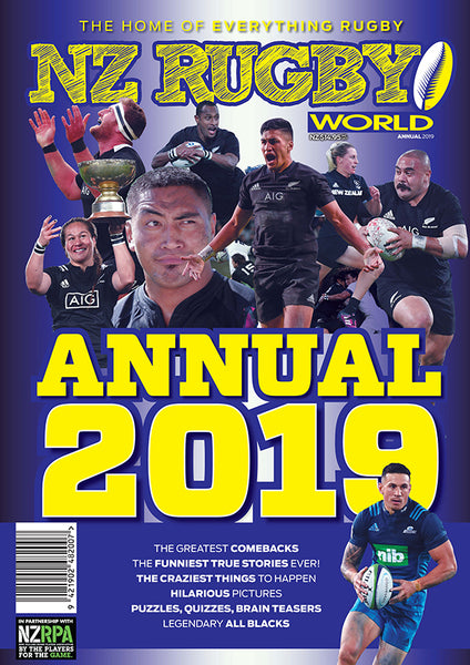 NZ Rugby World Magazine Special Issue 2019 ANNUAL $14.95 + postage and packaging (go to next screen to find out the shipping costs for your country)