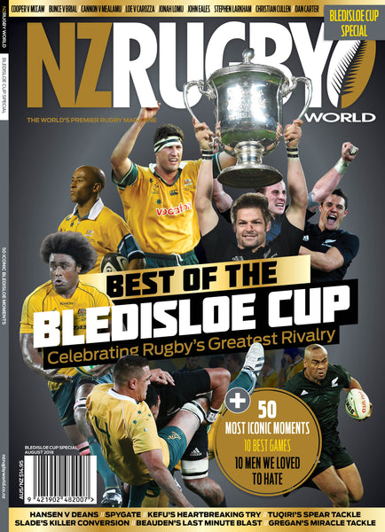 NZ Rugby World Bledisloe Cup Special Issue 2018 $14.95 + postage and packaging (go to next screen to find out the shipping costs for your country)