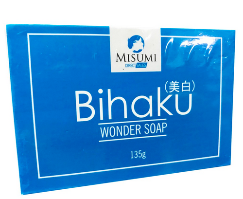 3 bars Misumi Bihaku Wonder Soap 135g each