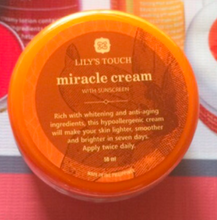 Authentic Miracle Cream by Lily's Touch, 50ml