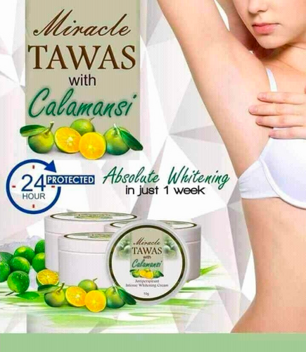 Miracle Tawas with Calamansi Cream
