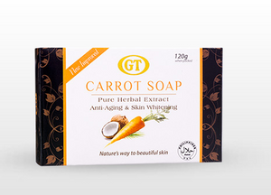 6 pcs. GT Anti-aging and whitening Carrot Soap