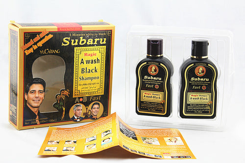 SUBARU Hair Nurturing Anti-Hair Loss Shampoo 238ml and Hair Nurturing Liquid 100ml