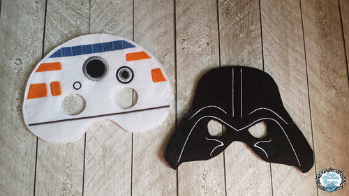 BB Droid and Vader Inspired Mask