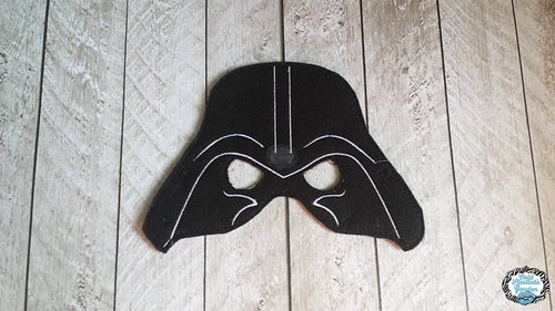 Darth Sith Inspired Mask - Dress Up, Pretend Play, Star, Space, Jedi, Ani, Apprentice, The Force