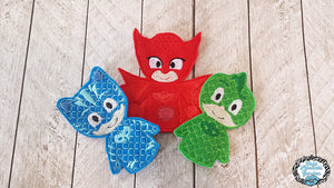 PJ Masks Finger Puppets -SET OF THREE Save 25% When bought as a set-