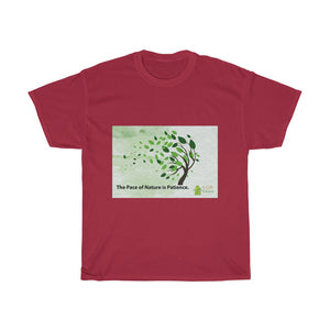 Pace of Nature is Patience - Unisex T-Shirts, Men cotton tee, women round neck printed tshirt