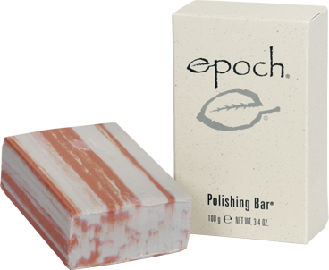 Face Wash Bar Epoch® Polishing Bar Natural Formula Soap-Free