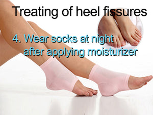 Heel Fissures Crack Feet Treatment Set