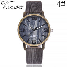 Wooden Watch 2017 Fashion Quartz Women Men Watches Casual Leather Strap Wristwatches