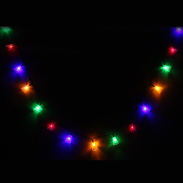 Solar Powered LED String Light 20 4m Bell Christmas Wedding Party Garden Outdoor Decoration Lights