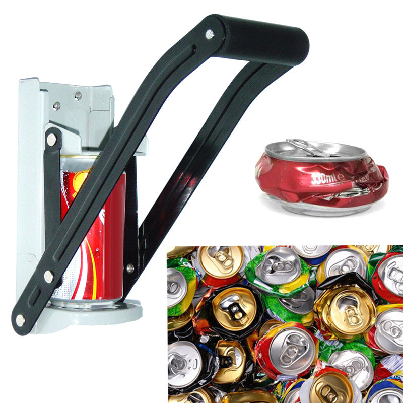 Can Crusher Tin Can Crusher With Grip Handle Wall Mounted Recycling Tool