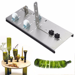 Bottle Cutter Adjustable Glass Wine Bottle Cutter High Strength And Hardness DIY Craft Recycle Tool