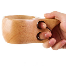 Wooden Cup with Saucer Set Coffee Tea Cups Wood High-quality Eco Friendly