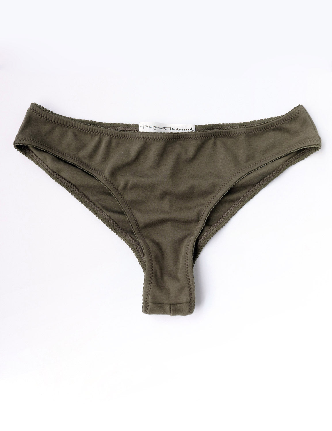Cheeky Undies - Olive