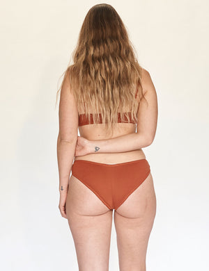 Cheeky Undies - Rust