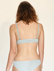 Scoop Bra - Blue