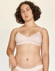 Scoop Bra - Rose