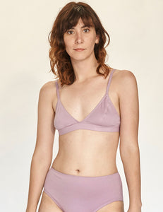 Triangle Bra - Lilac