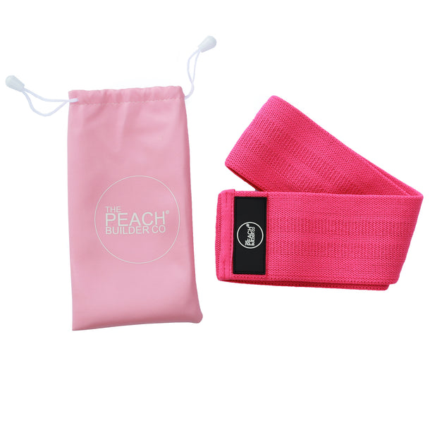 Peach Builder Advanced Fabric Resistance Band
