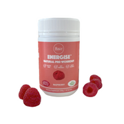 Peach Builder Energise Natural Pre-Workout - Raspberry