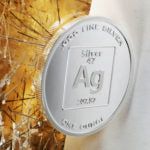 Pure Silver 1/2 Ounce 99.99 Fine Element Design