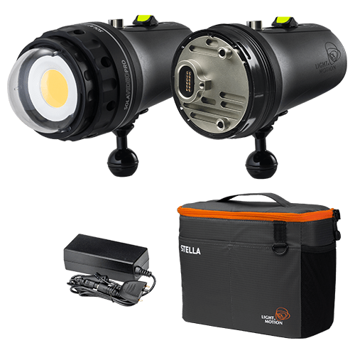 Light & Motion SOLA Video Pro 15000 + batterie