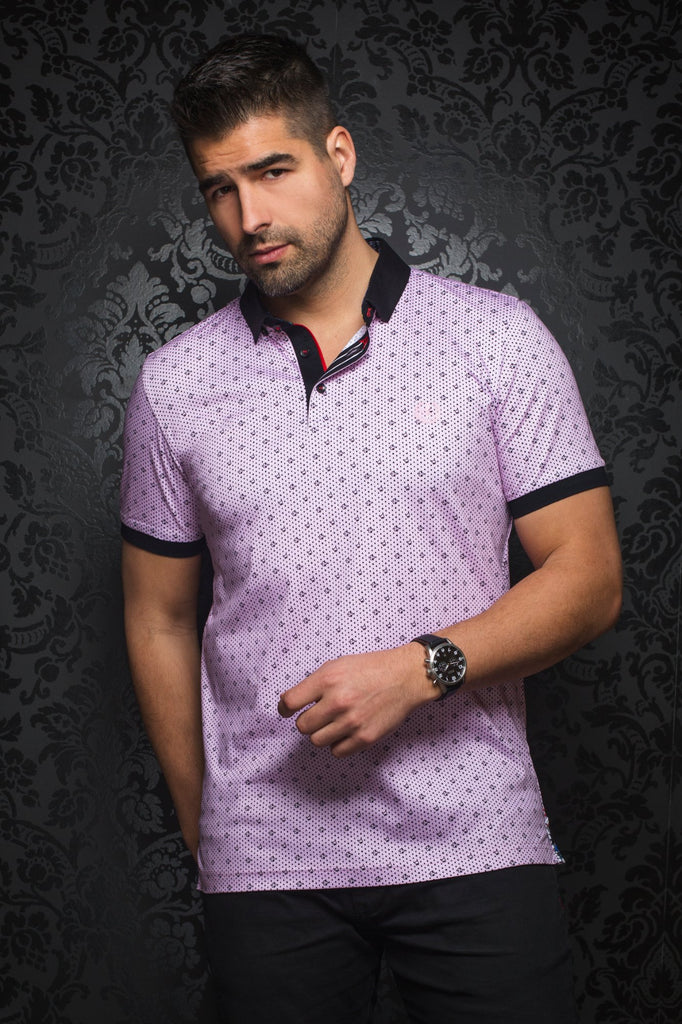 Polo Au Noir - BLACK JACK pink - Boutique Vvög