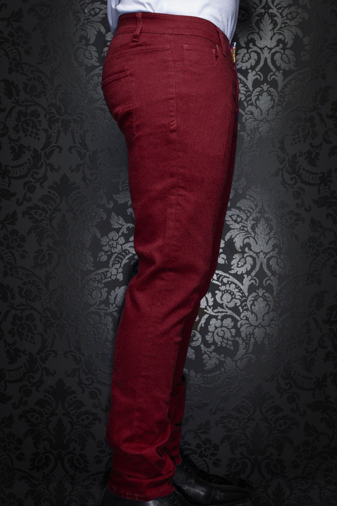 Pantalon Au Noir - JOHNNY-C wine