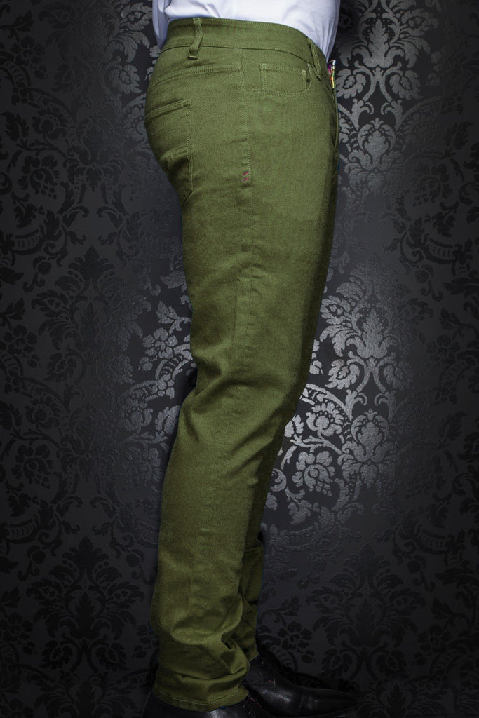 Pantalon Au Noir - JOHNNY-C olive