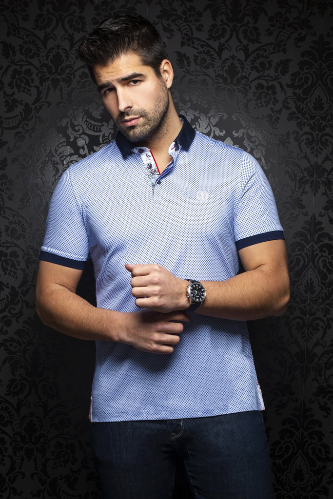 Polo Au Noir - SIERRA LiGHT-BLUE