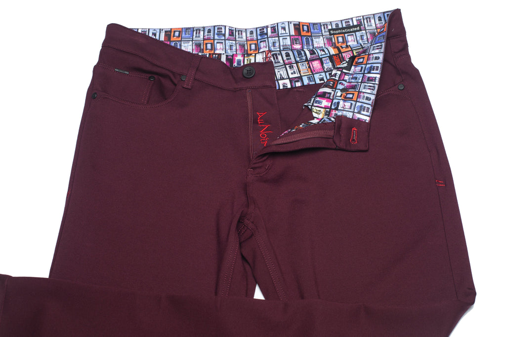 Pantalon Au Noir - WINDCHESTER WINE