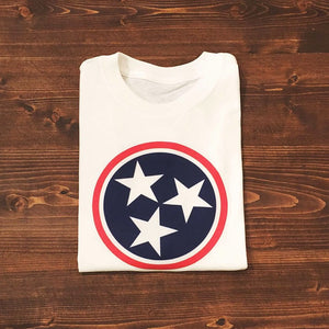 Tri Star Tee — bright and durable children's clothes, with love from Tennessee!