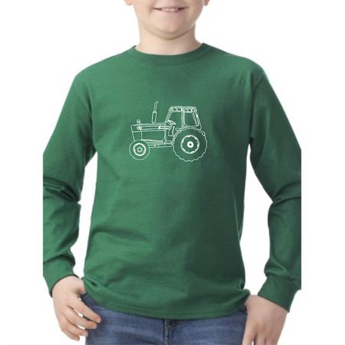 Tractor — bright and durable children's clothes, with love from Tennessee!